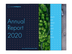 Access Intelligence Annual Report 2020